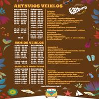 Skelbiama festivalio pramogų programa!